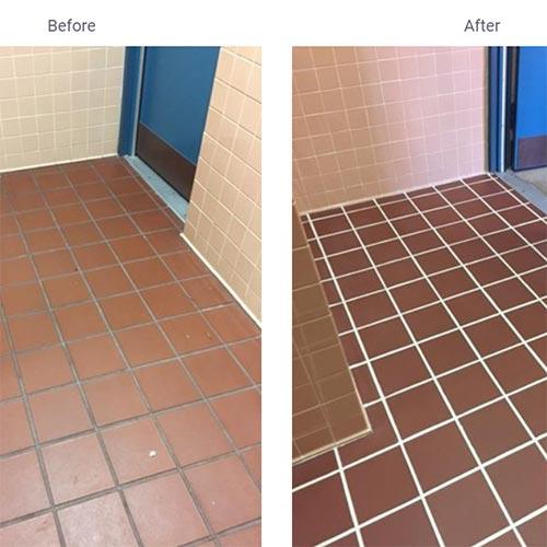 Cubix Inc Spotlights SaniGLAZE Commercial Floor System